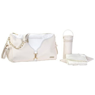 Kalencom Astrid Diaper Bag, Champagne (Discontinued by Manufacturer)