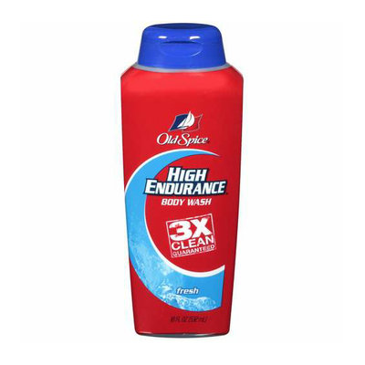 Old Spice Body Wash Fresh Scent High Endurance 18 Fl Oz