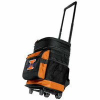 NCAA University of Illinois Rolling Cooler