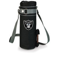 Nfl - Oakland Raiders Picnic Time NFL Oakland Raiders Wine Sack Digital Print Insulated Single Bottle Tote