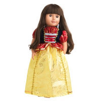 Little Adventures Doll Dress Snow White