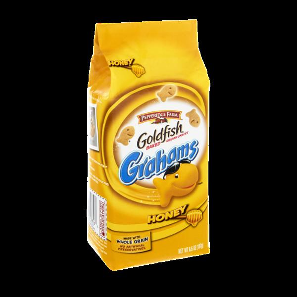Pepperidge Farm Goldfish Grahams Honey Baked Snacks