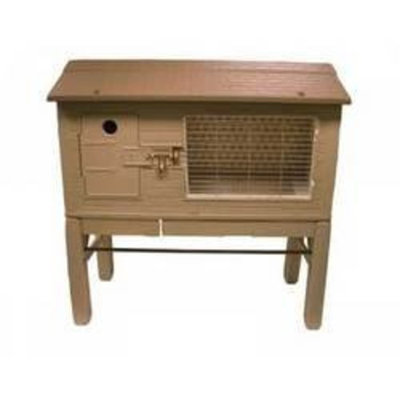 Mojetto Small Animal Supplies Spet All Weather Weatherproof Rabbit Hutch