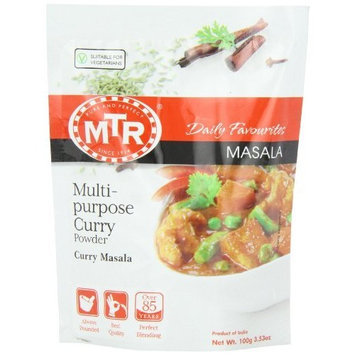 MTR Multipurpose Curry Powder, 3.52-Ounce Pouches (Pack of 36)