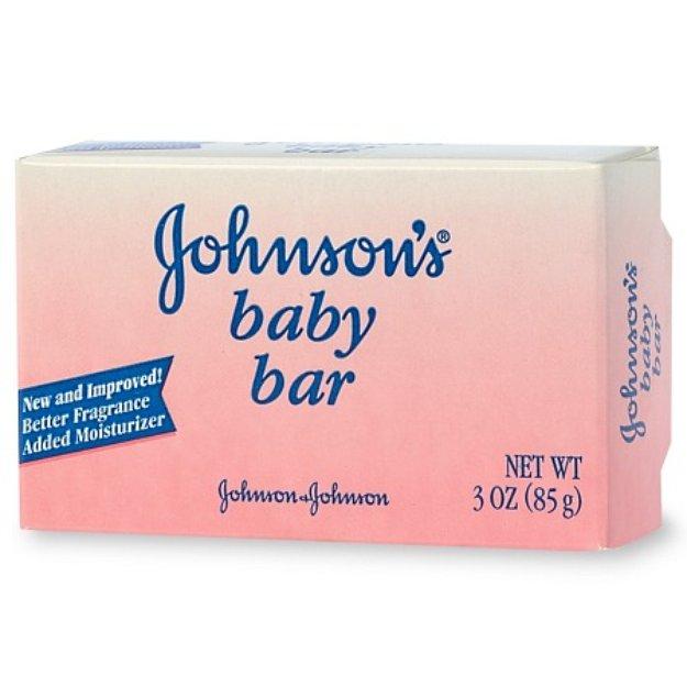 Johnson and johnson bar soap