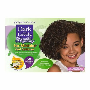 Dark and Lovely Beautiful Beginnings Curl Softener Kit