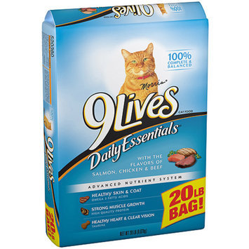 9 Lives 9Lives 20 lbs Daily Essentials Dry Cat Food