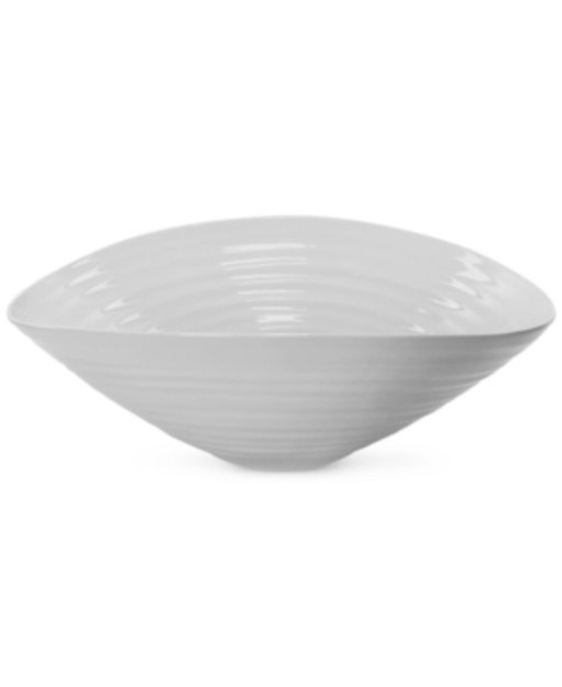 Portmeirion Sophie Conran Grey Medium Salad Bowl