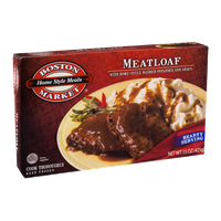 Boston Market Meatloaf With Home-Style Mashed Potatoes & Gravy