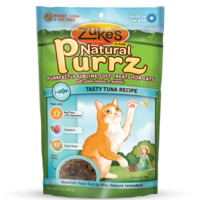 Zuke's Natural Purrz Soft Treats Salmon