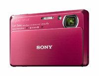 Sony DSC-TX7 10.2MP CMOS Digital Camera - Red