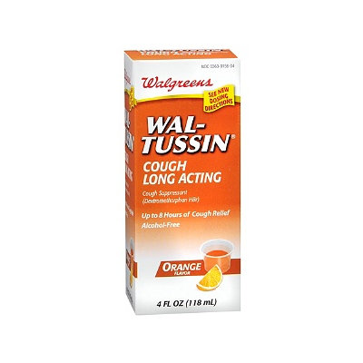 Walgreens Wal-Tussin Long Acting Cough Suppressant Liquid