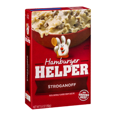 Hamburger Helper Stroganoff