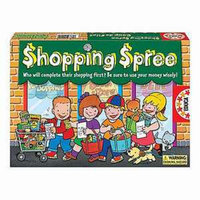 Educa Shopping Spree Game Ages 4 and up, 1 ea