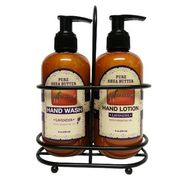 Out Of Africa Hand Caddy Duo HandWash/Hand Lotion Lavender