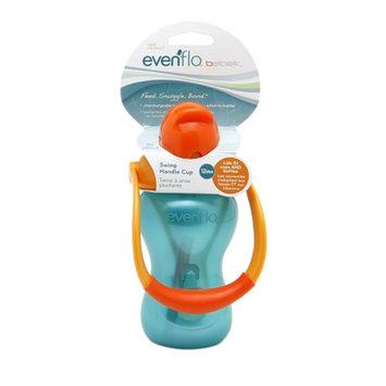 Evenflo Bebek Swing Handle Straw Cup, Blue, 1 ea