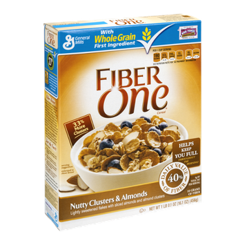 Fiber One Cereal Nutty Cluster & Almonds