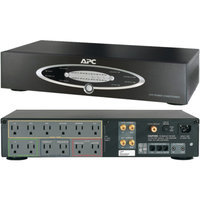 APC APNH10BLKB H10BLK 12-Outlet H-Type Rack-Mountable Power Conditioner w/ Coaxial Protection