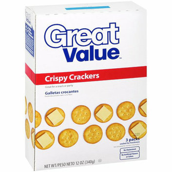 Great Value Crispy Crackers