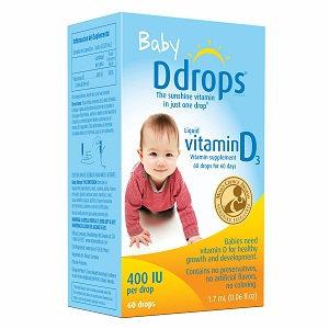 Ddrops Baby Vitamin D3 400 IU