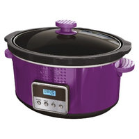 Bella 5-Quart Slow Cooker - Purple