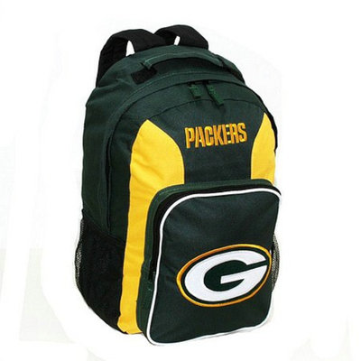 Concept One NFL Green Bay Packers Southpaw Team Color Backpack - School Supplies
