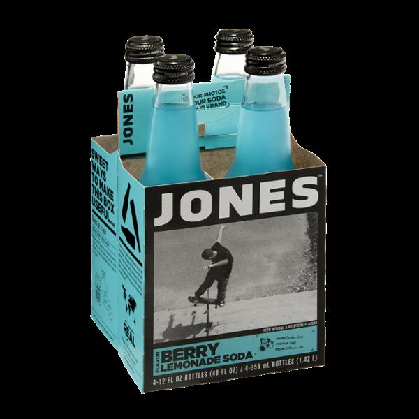 Jones Berry Lemonade Soda - 4 PK