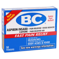 BC Aspirin Pain Relief Powder - 50 ct