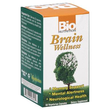 Bio-nutrition Bio Nutrition - Brain Wellness - 60 Vegetarian Capsules