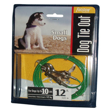 Roccorp, Inc. Beast Small Dog Tie Out 12 Feet