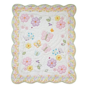 Nurture Generations Nurture Imagination Mix & Match Butterfly Garden Quilt