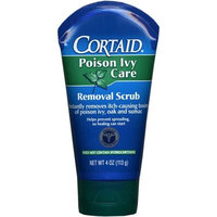 Cortaid Poison Ivy Care Removal Scrub 4-Ounce Tube