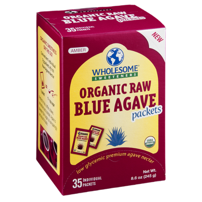Wholesome Sweeteners Blue Agave Organic Raw