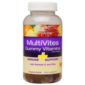 Nutrition Now MultiVites Gummy Vitamin + Immune Support, 120 ea