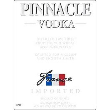 Pinnacle Vodka 80@ 750ML