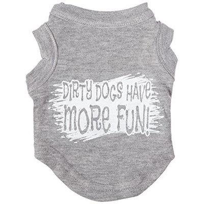 Ahi Dirty Dogs Screen Print Shirt Grey XS (8)