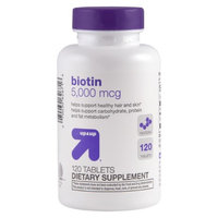 up & up up&up Biotin 5000 mcg Tablets - 120 Count