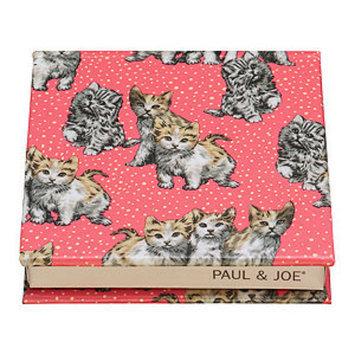 Paul & Joe Beaute Fashion Print Cheek & Eye Color Refill Compact, Flirty Kitties, 1 ea