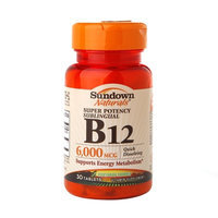Sundown Naturals Super Potency Sublingual B12