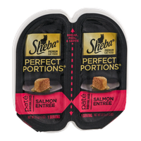 Sheba Perfect Portions Pate Premium Cat Food Salmon Entree