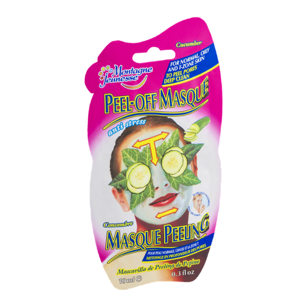 Montagne Jeunesse Peel-Off Masque for Normal, Oily and T-Zone Skin Cucumber