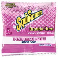 SQWINCHER 010374-PL Electrolyte Chews, Pink Lemonade, PK12