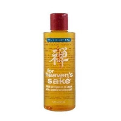 Bath & Body Works True Blue Spa Far East Escape for Heaven's Sake Super Softening Oil to Cream Wash with Sake 6.4 fl oz (189 ml)