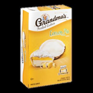 Grandma's Frosted Cookies Lemon Pie - 6 CT