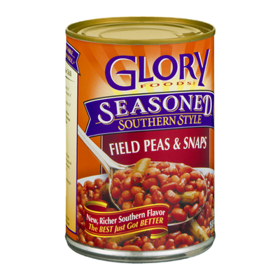 Glory Foods Field Peas & Snaps Seasoned Southern Style