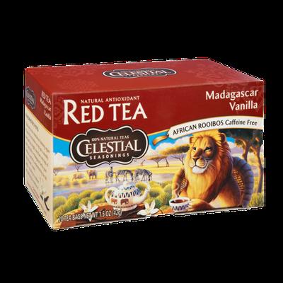 Celestial Seasonings Madagascar Caffeine Free  Vanilla Red Tea - 20 CT