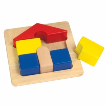 Guidecraft Primary Chunky-House Puzzle (G2017)