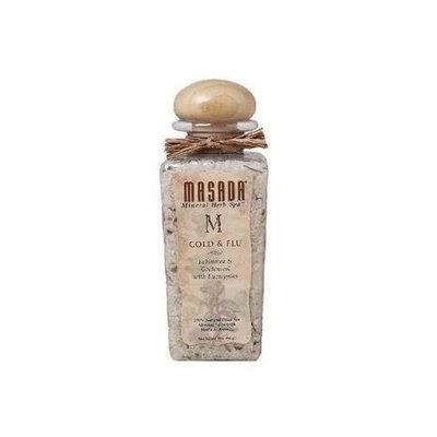 MASADA HEALTH AND BEAUTY Mineral Herb Spa (Gift Jar) Cold & Flu 2 LB