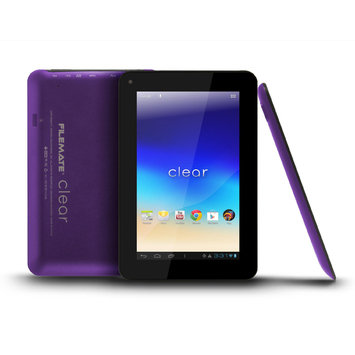 FILEMATE Filemate Clear 3FMT720BK-16G-R 7-Inch 16GB Tablet- Purple