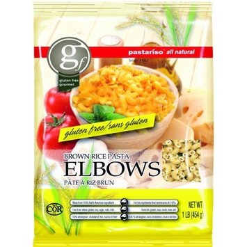Pastariso All Natural Brown Rice Elbows, 1-Pound (Pack of 6)